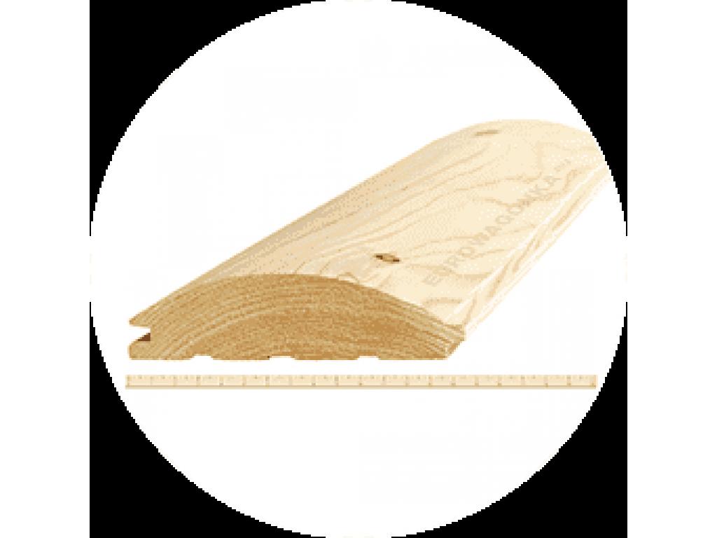 Блокхаус «а-в-с» 46х185ммх5,7м вологда