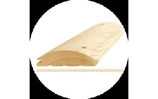 Блокхаус «А-В» 40х195ммх6,0м «Вельский лес»