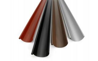 Желоб ПВХ 3м (коричневый)