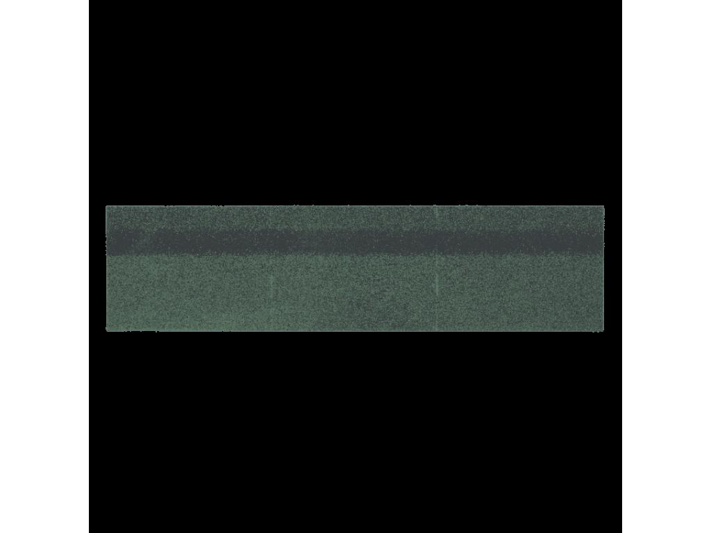 Коньки-карнизы шинглас (зеленый) 0,25*1м (0,25м2)