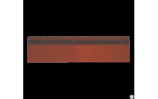 Коньки-карнизы Шинглас (красный) 0,25*1м (0,25м2)