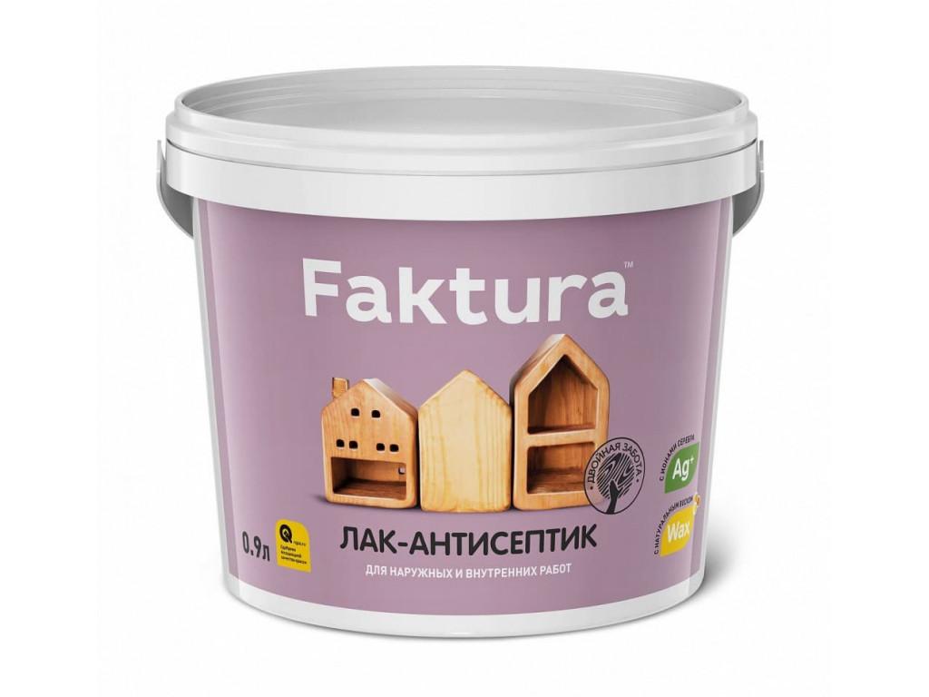 Лак-антисептик  faktura  бесцветный 0,9л
