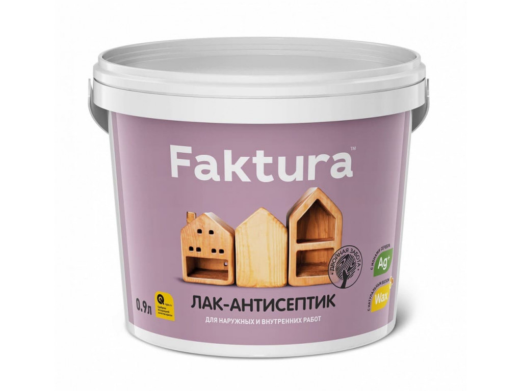 Лак-антисептик  faktura сосна 0,9л