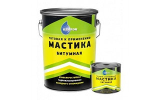Мастика битумная  гидроизол (для фундаментов) «Farbitex» (2кг)
