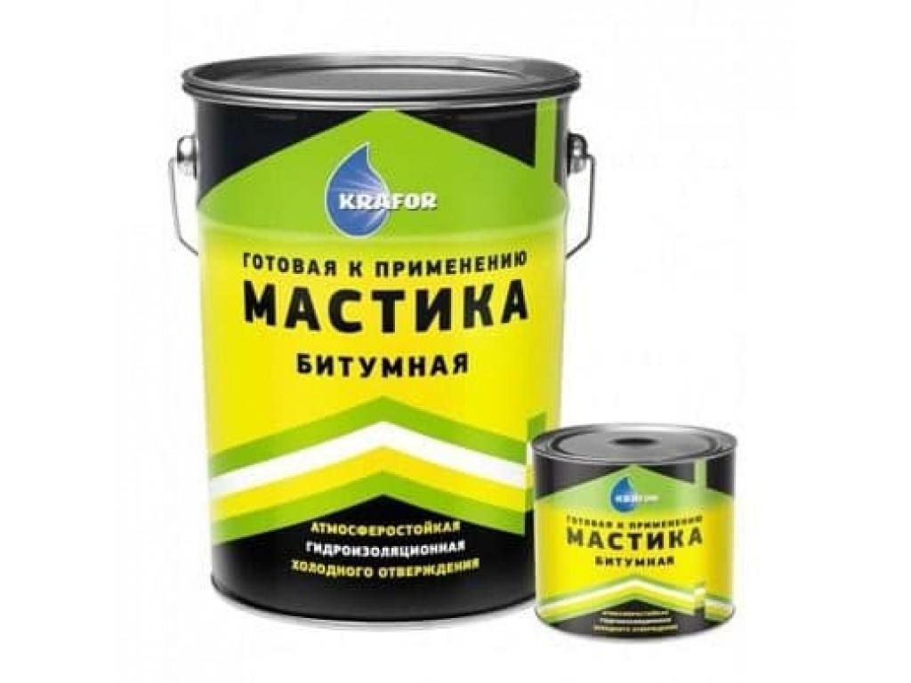 Мастика битумная  гидроизол (для фундаментов) «farbitex» (4кг)