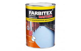 Мастика бит-резин (для кровли) «Farbitex» (4кг)