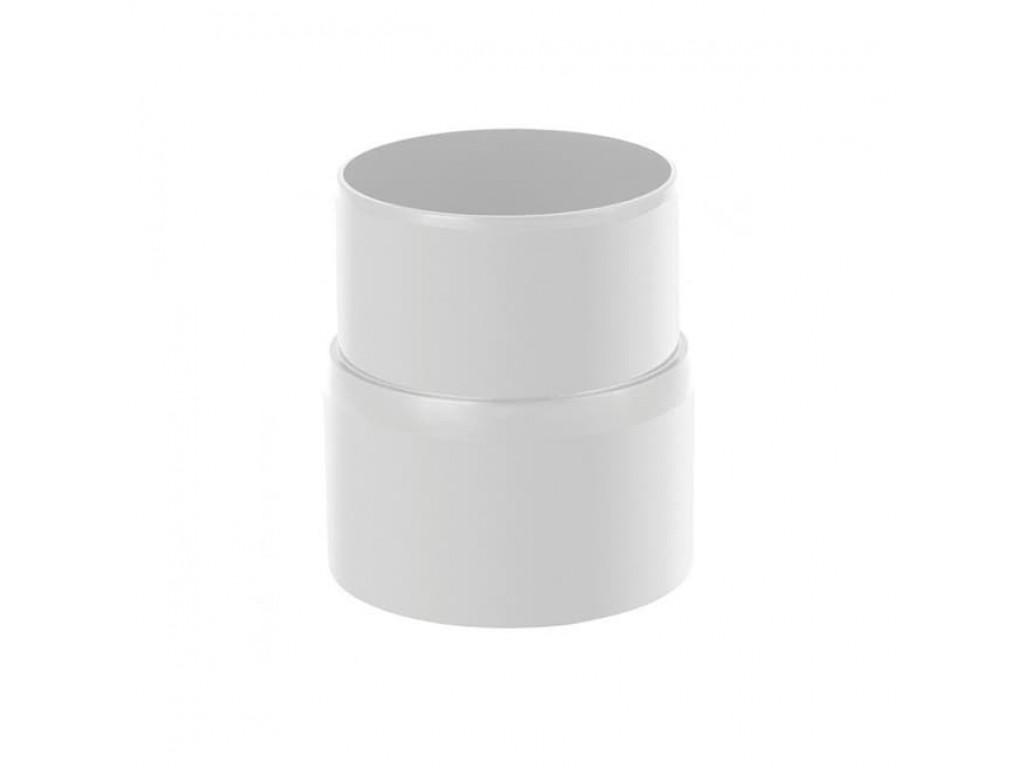 Муфта трубы пвх (белый)