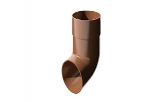 Слив трубы ПВХ (коричневый)