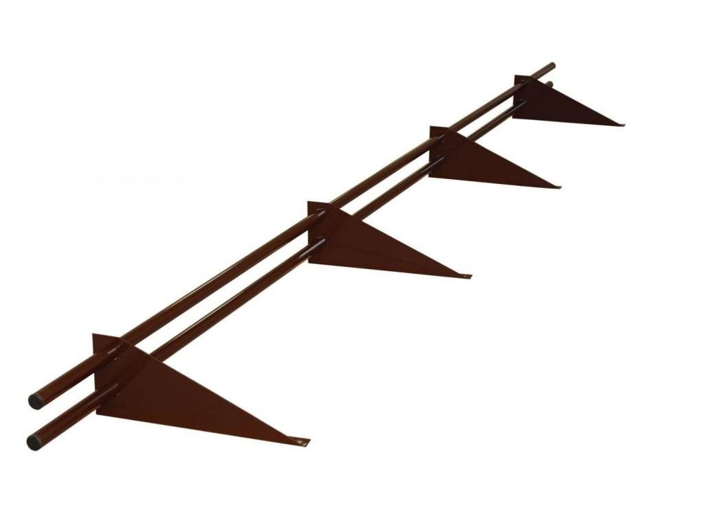 Снегозадержатель стандарт rall 8017 (коричнев.)