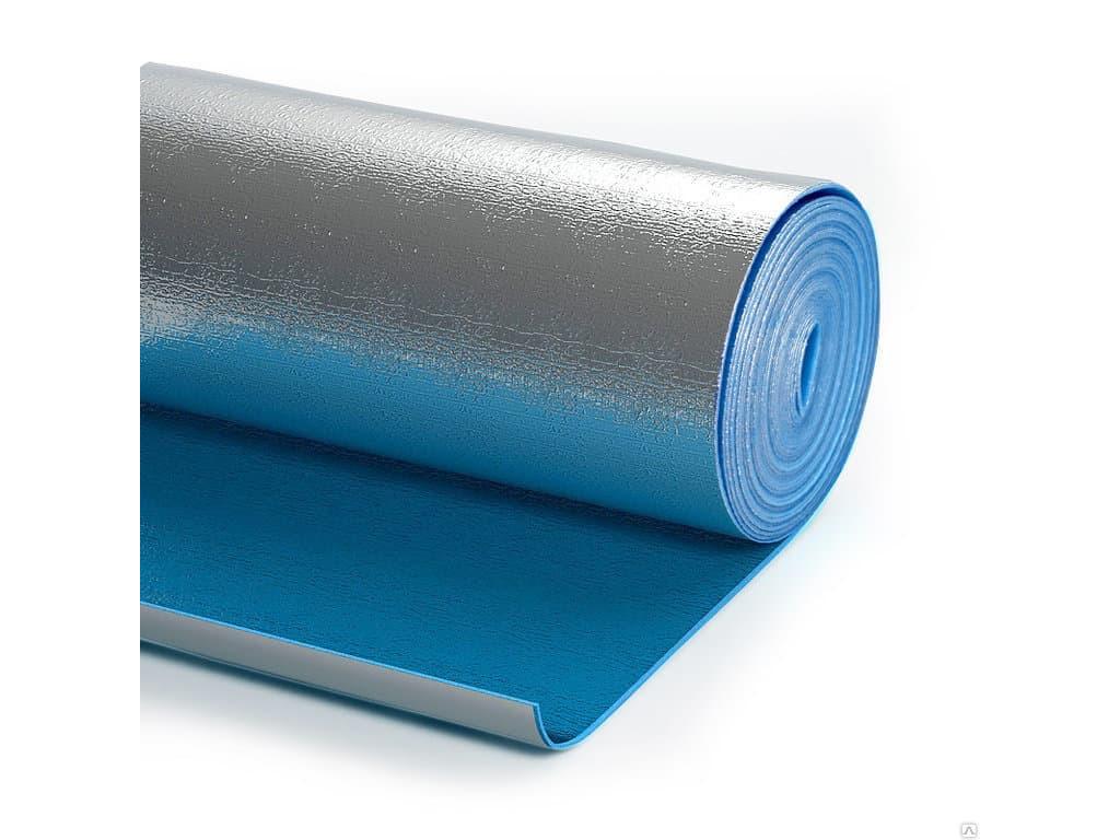 Теплоизоляция (лавс) 3мм (1,2*25м) фольгир