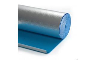Теплоизоляция (лавс) 5мм (1,2м*30м) фольгир