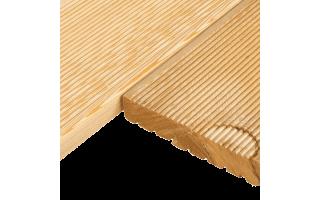 Террасная доска 0,027*0,08*2,4м (лиственница)