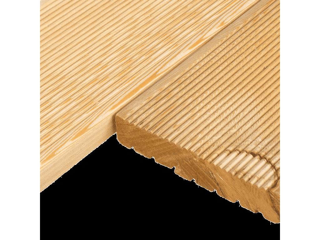 Террасная доска 0,027*0,1*1,0м (лиственница)