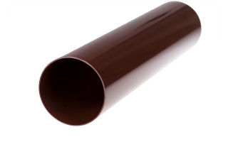 Труба 3м ПВХ (коричневый)