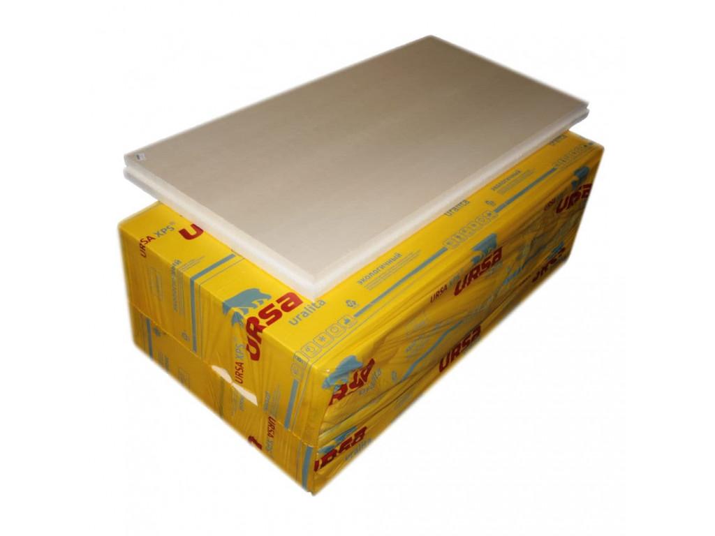 Экструзионные плиты xps ursa 0,05*0,6*1,180м