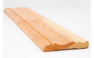 Наличник осина 90мм фигурный 2,2м