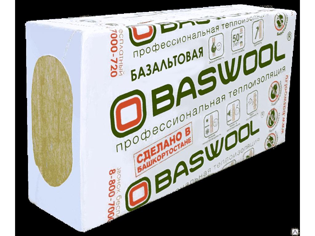 Baswool лайт 45 6штх1200х600х50 (1уп=4,32м2)