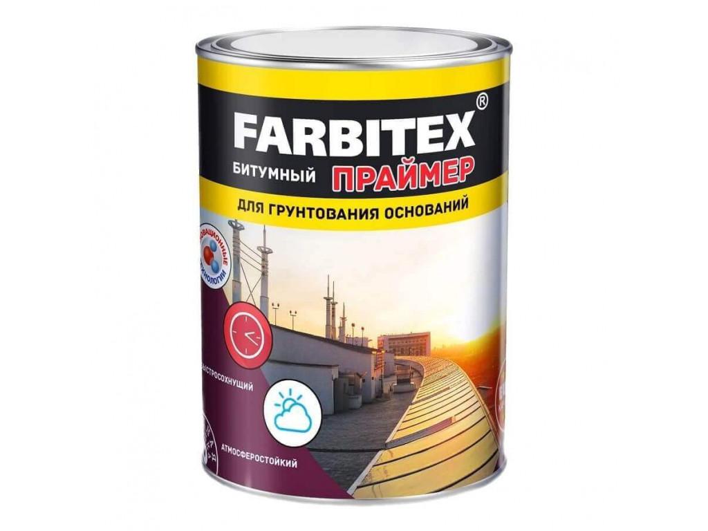 Праймер битумный «farbitex» (1,7кг)