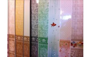 Панель пласт. ламинированная Бари Олив.(сер) 2700х250х9